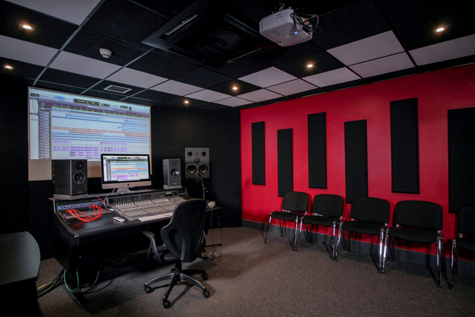 Check out our studios in action at our open day!
