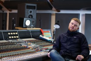 Tom Ashy - Studio & Live Music Production Student